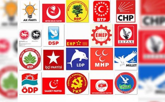 Türkiye'de siyasi parti bolluğu!